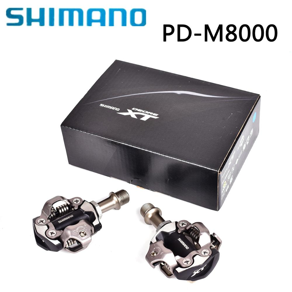 NEW SHIMANO XT PD M8000 Bicycle Pedal SPD Pedals MTB Components Use for Bicycle Racing Mountain Bike Parts-in Bicycle Pedal from Sports & Entertainment    1