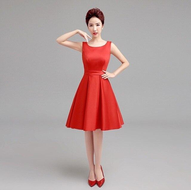 Envío libre elegante rojo De encaje vestido De fiesta mujeres cóctel corto  vestido vestidos cóctel sin 6d662faca95e