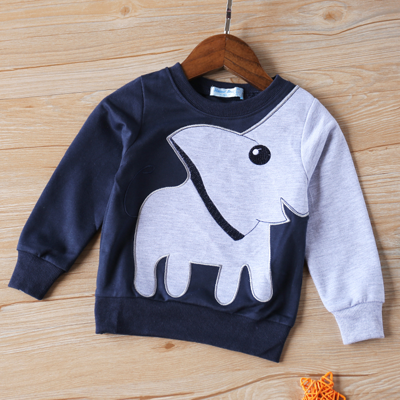 Kids T-Shirt Elephant Girls Autumn Boys Fashion The And Sport 2-To-6-Years-Old