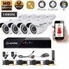 Eyedea 8CH HDMI DVR Recorder HD 1080P 2 0MP 5500TVL CMOS IR 36 LED Night Vision