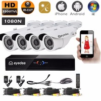 Eyedea 8CH HDMI DVR Recorder HD 1080P 2 0MP 5500TVL CMOS IR 36 LED Night Vision