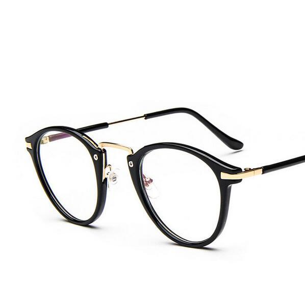 2017 Fashion Big Frame Prescription Glasses Women Korean Eyeglasses ...