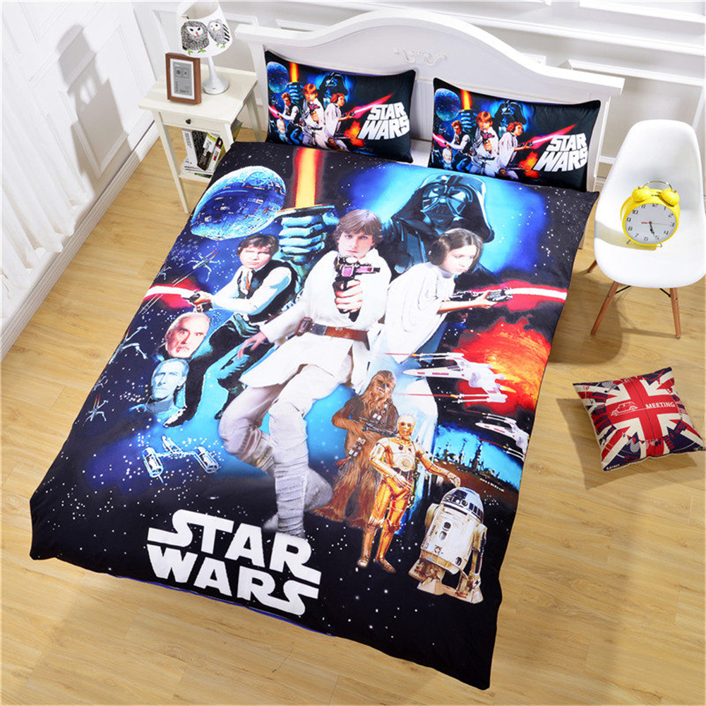 Star Wars Film 3D Bedding Set Print Duvet Cover with ...
