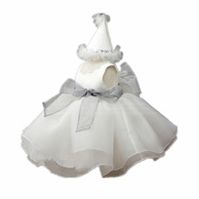 BBWOWLIN Formal Gowns Baby Girl Dress Vestido Infantil for 1 Year Birthday Christmas Wedding Party Christening