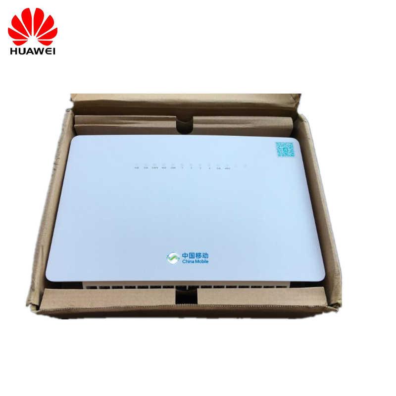 Huawei GPON ONT HS8546V 4GE + 1 голос + 2USB с двухдиапазонным роутером 2,4G + 5G WiFi FTTH ONU английская прошивка