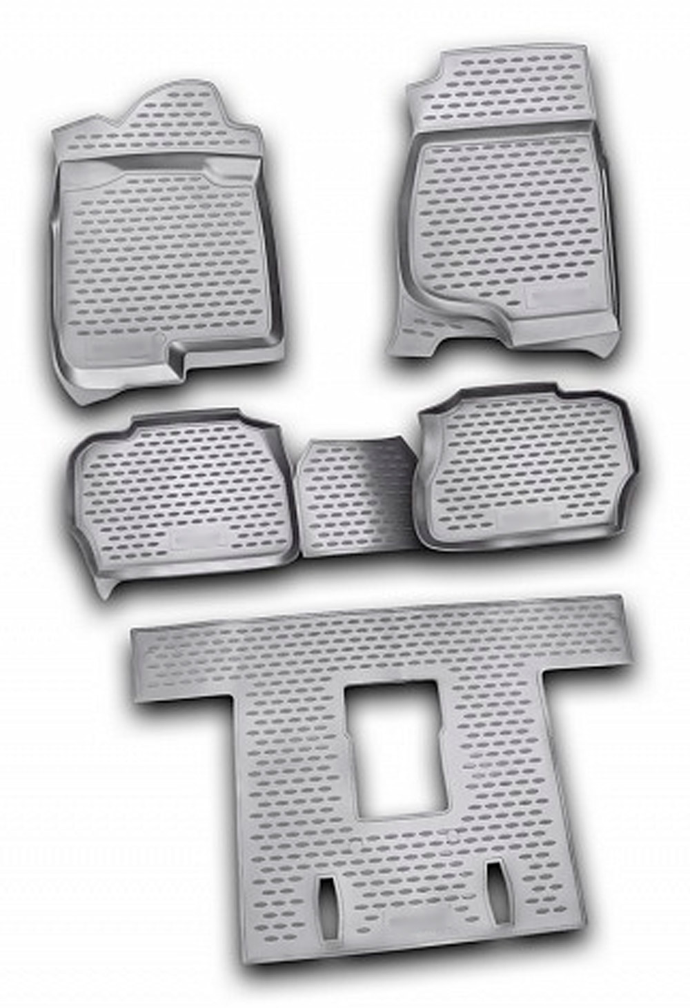 Floor mats for Cadillac Escalade 2015- 4 pcs rubber rugs non slip rubber interior car styling accessories