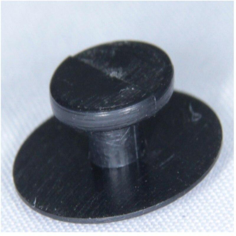Free DHL 10000pcs Black Button Buckles Shoe Accessories Fit For Shoe Charms Shoe Buckle Decoration Fit Bands & Croc Jibz