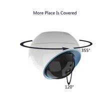 Wdskivi HD P2P NAS RTSP ONVIF chmura kamera ip kopułkowa 1080P bezprzewodowa kamera monitoringu wi fi kamery monitoringu cctv Auto śledzenie kamery AP