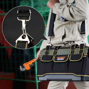 Image 4 - Multifunktions Werkzeug Tasche Große Kapazität Verdicken Professionelle Reparatur Werkzeuge Tasche 13/16/18/20 Messenger Toolkit Tasche