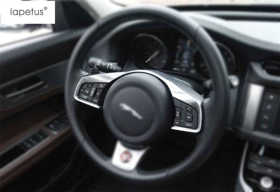 Accessoires Lapetus pour Jaguar XF 2016 2017 2018 2019 volant changement de vitesse palettes cadre moulage Kit de couverture garniture 1 pièces/ABS
