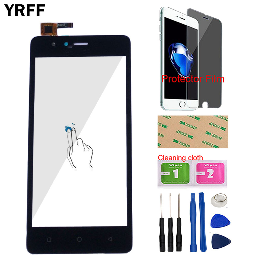 Phone Touch Screen Panel For TP-Link Neffos C5A TP703A Touch Screen Digitizer Front Glass Sensor Assembly Tools Protector Film