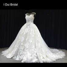 I DUI Bridal Ball Gown Wedding Dress 3D Vivid Bridal Gown