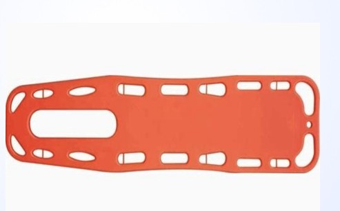 Lifebelts Plate Medical Pe Board Fitted Spine Emergency Rescue Stretcher Plate Plastic Stretcher
