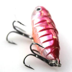 "Image 4 - חם! 6 יחידות גבוהה באיכות חרקים פיתיון דבורה דיג פיתוי קרפיון קרס דיג מים מתוקים בריכת מאגר דיג Wobblers 40 מ""מ 4.2 גרם"