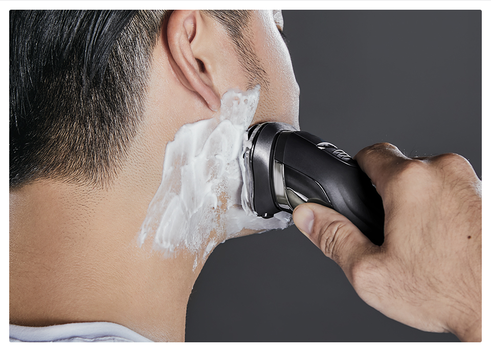 XIAOMI Soocas SO WHITE ES3 3D Electric Razor Shaver With USB LED Display And Beard Trimmer 12