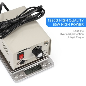 Image 5 - Strong 90 65W 35000RPM Professional Electric Nail Art Drill Machine Stainless Steel Pedicure Nail Polishing Manicure Machine