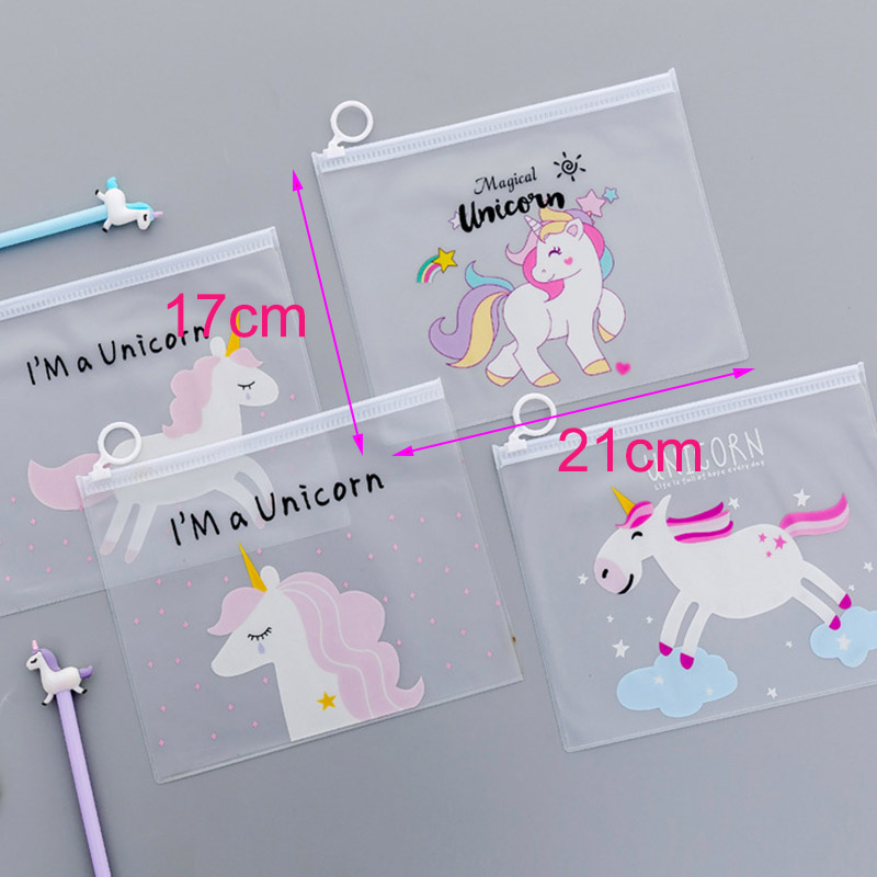 Unicorn Clear Cosmetic Wash Bag Fashion PVC Toiletry Bag Travel Organizer Necessary Beauty