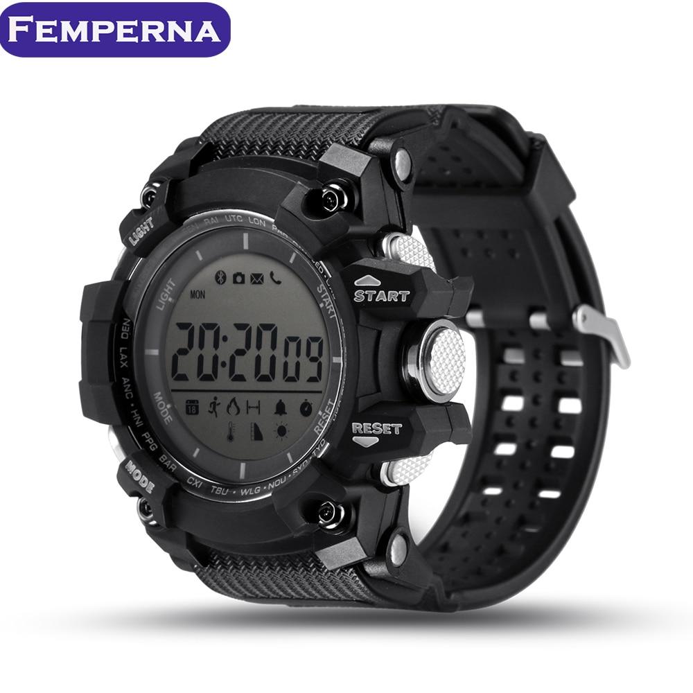 imágenes para XR05 2017New reloj Inteligente con 30 Metro de Buceo Impermeable Bluetooth Smartwatch para Apple Samsung huawei Sony xiaomi teléfono Android