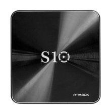 R-TV BOX S10 Android 7.1 Smart TV Box S912 Octa core KODI 18.0 DDR4 Ram 3GB + Rom 32GB BT 4.1 5G Dual WIFI 1000M Lan 4K 3D
