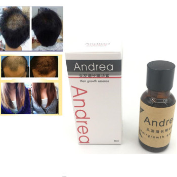 Andrea Hair Growth Ginger Oil Natural Plant Essence Faster Grow Hair Tonic Toppies Shampoo No Hair Loss Hair Care Beauty Tools