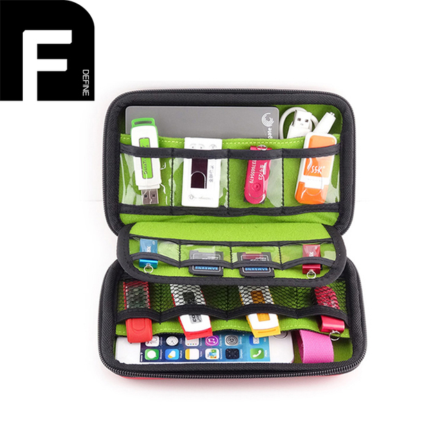 Hot Selling Travel Accessories Portable Carry Case Hard EVA Anti Knock  Storage Box For Cellphone