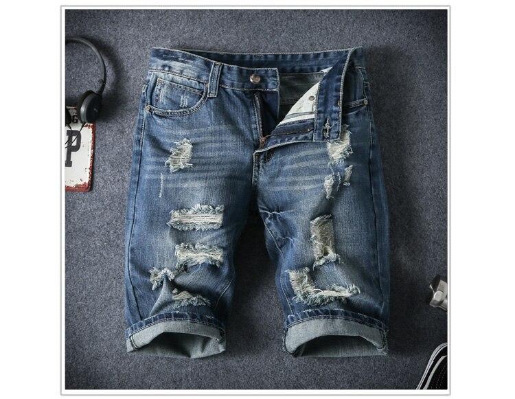 636b4d2501d Летние Мужчины Короткие Джинсы мужская Мода Шорты Мужчин Большие ...