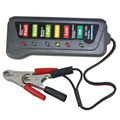 12V Digital Battery / Alternator Tester Battery State Check with 6-LED Lights Display Car Vehicle Battery Diagnostic Tool