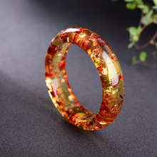 Flower amber bracelet bracelet amber beeswax yellow chicken oil 62mm female hand on beauty jiuduo natural colorful amber beeswax bracelet hand with women identification design factory direct special package mail