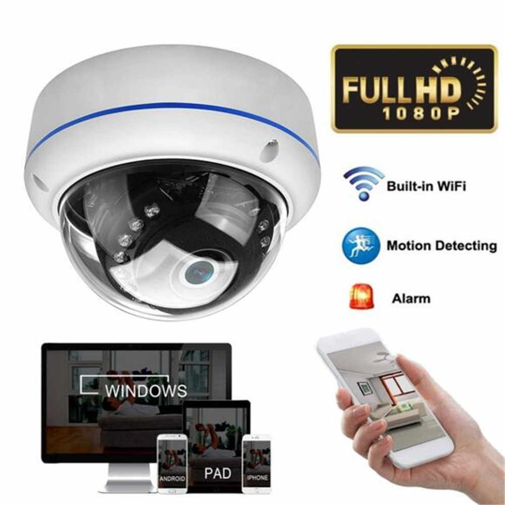 HD 1080P WiFi Dome IP Camera Motion Detecting Infrared Night Vision Wireless Onvif POE 12V Outdoor IR Speed Dome CCTV Cameras
