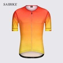 saiBike Cycling Jersey 2019 bandana men Summer Spandex Clothing Short Sleeve Bike Shirt bicycle tops
