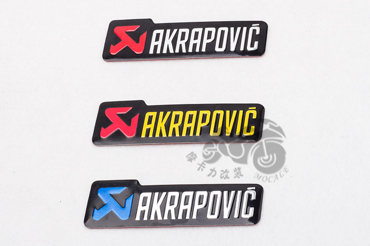 Motorcycle Decoration Exhaust Pipe Exhaust Scooter Muffler Sticker For Akrapovic Yamaha Honda KTM Kawasaki Ducati Aprilia BMW