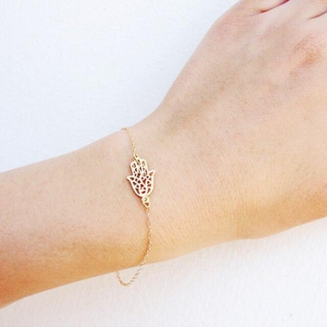 Simple Hamsa Chain Bracelet...