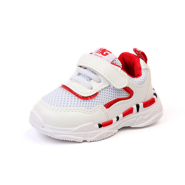 Summer New Breathable Mesh Kids Casual Running Shoes Fashion Contrast Color Boys Girls Sneakers Children Casual Sports Shoes 888