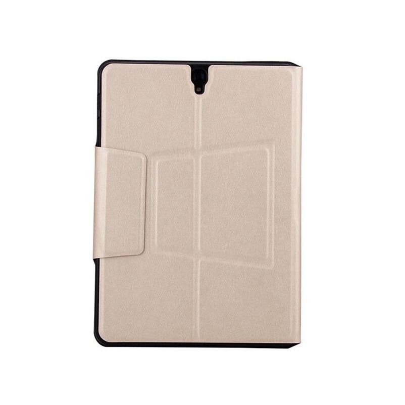 Tastiera Ultra Sottile di Bluetooth con il Caso di Cuoio Della Copertura Per Samsung Galaxy Tab S3 9.7 T820/T825 A8