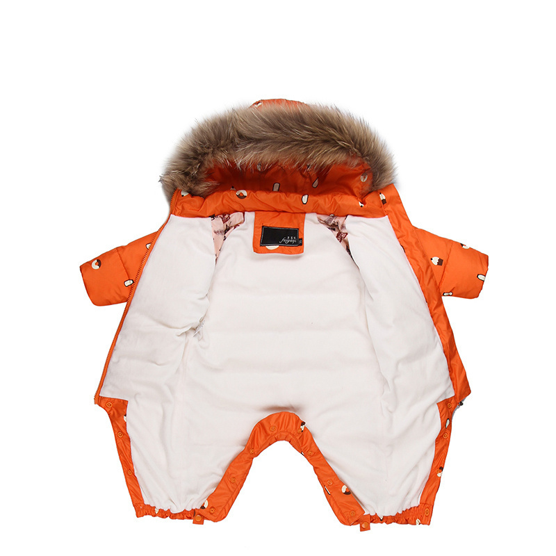 8766a3217 Designed for Russian winter jumpsuit baby girl clothes snowsuit 90% duck  down jacket for girls coats Park infant boy snow wear ~ Free Delivery June  2019