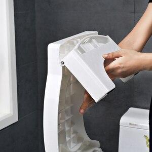 Image 4 - פלסטיק רגל נייד החלקה תכליתי אסלת שרפרף קראוץ אנטי עצירות בית כריעה מתקפל עגול אמבטיה סיוע