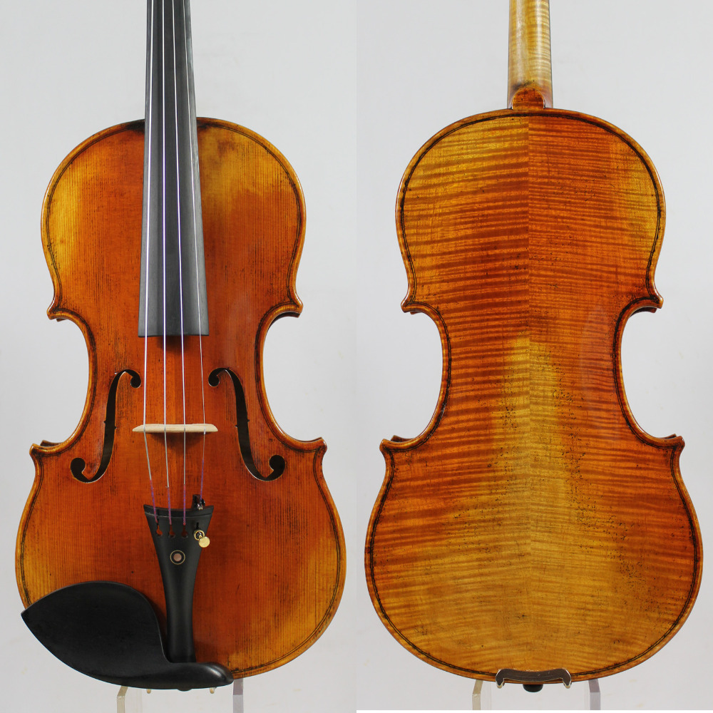 Ch.J.B Collion-Mezin Copy French violin ,Professional handmade antique Violin,Austrian Spruce wood.NO:152 ingersoll in1825cr