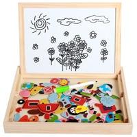 30 см деревянные головоломки игрушки для детей; из дерева мультфильм мальчик головоломки интеллект Дети Ранние развивающие игрушки для дете