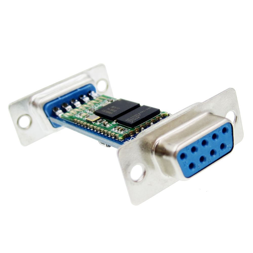 Купить со скидкой DB9 Interface RS232 Bluetooth Through Module Wireless Serial Ports HC06 Slave Male-Female TIEGOULI
