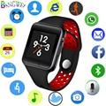 Nuevo reloj inteligente de las mujeres de los hombres inteligente deportes del podómetro tarjeta SIM para Android Teléfono móvil Bluetooth cámara de control remoto inteligente