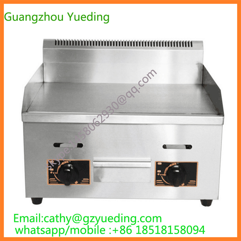 free shipping Restaurant Table Top Gas Flat Barbecue Griddles/Portable Commercial Griddle/Gas Griddle Grill free shipping electric griddles