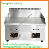 free shipping Restaurant Table Top Gas Flat Barbecue Griddles/Portable Commercial Griddle/Gas Griddle Grill