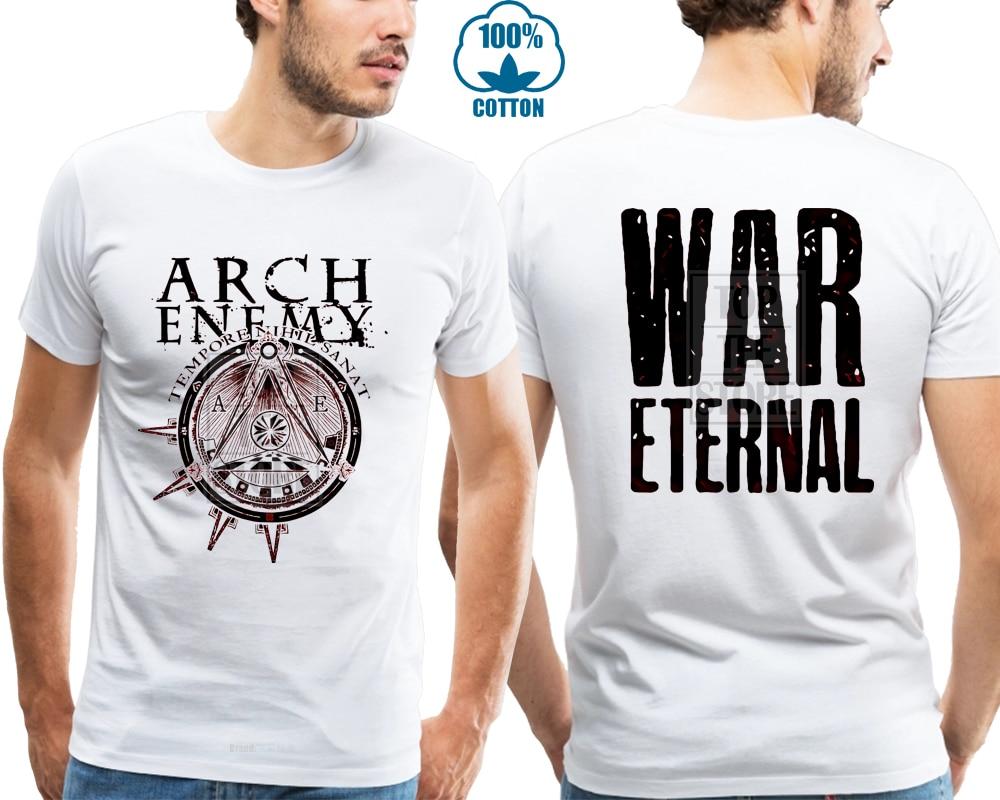 20bc9a52f50 Arch Enemy Illuminati Red War Eternal Shirt S M L Xl Official T Shirt Tshirt  New