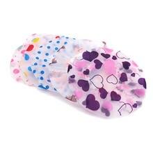 Детская Милая шапка для ванны и шампуня купания детская мытья