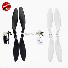 ZMR 4 Pairs ABS CW CCW 2 Blades Props T Blade Prop Propellers 5030 6045 7045 8045 9450 1047 1247 Folding Propeller for UAV Drone