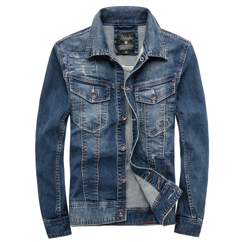 2016 Spring New Jacket Fashion Men Stylish Slim Men Jean Jackets
