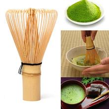 Bambusowa Matcha trzepaczka praktyczna japońska ceremonia Chasen 64 herbata Matcha w proszku trzepaczka zielona herbata Chasen pędzel do Matcha tanie tanio VKTECH CN (pochodzenie) Other