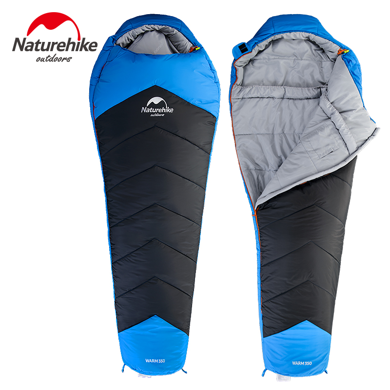 NatureHike Mummy Sleeping Bag Adult Outdoor Indoor Autumn And Winter Thickening Warm Camping Catskill 350 Cotton аксессуар для игровой консоли thrustmaster джойстик t flight hotas x 2960703