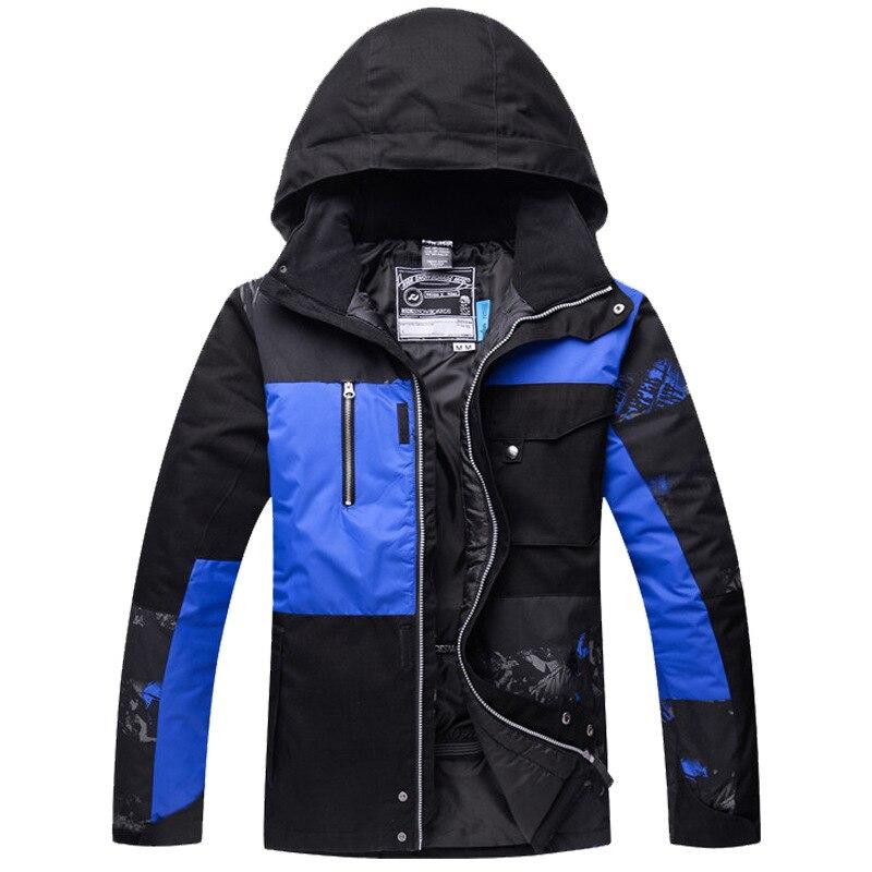 Winter Unisex Ski Jacket Waterproof Windproof Breathable Snowboard Jacket Outdoor Sports Coat Super Warm Siaced Snowboarding