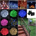 22M 200LED Solar Outdoor LED Christmas Light Fairy Lights Wedding Garden Xmas String Light Colorful Outdoor Holiday Lighting